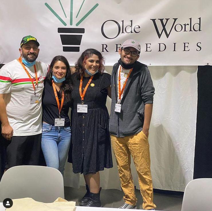 Olde World Remedies Team at NECANN Boston 2021